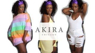 AKIRA CLOTHING HAUL | SHOPAKIRA.COM