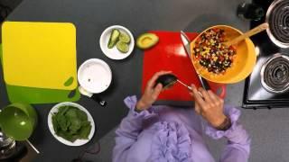 Healthy Teaching Kitchens Presents: Fiesta Black Bean Salad