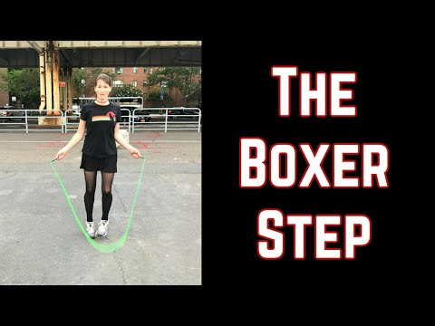 Learn the jump rope boxer step (2019)