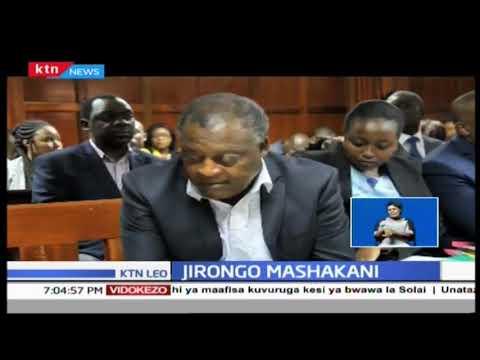 Cyrus Jirongo atasalia korokoroni kwa usiku mwingine hadi alipe amana ya shilingi milioni tano