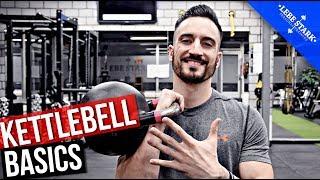 TOP 5 Übungen für die Kettlebell - [OHNE FITNESSSTUDIO]