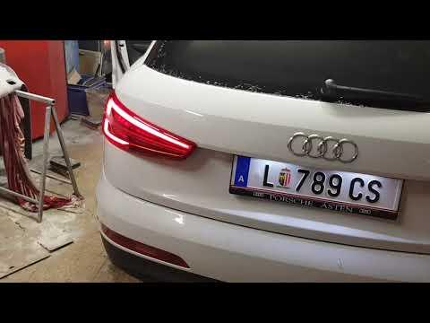 Audi Q3 Vorher/Nachher Dynamische Blinker