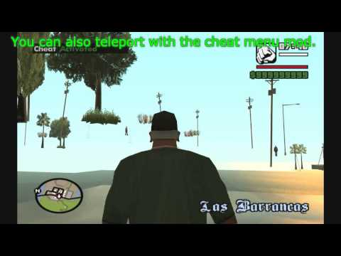 GTA San Andreas - How to place territories anywhere you want