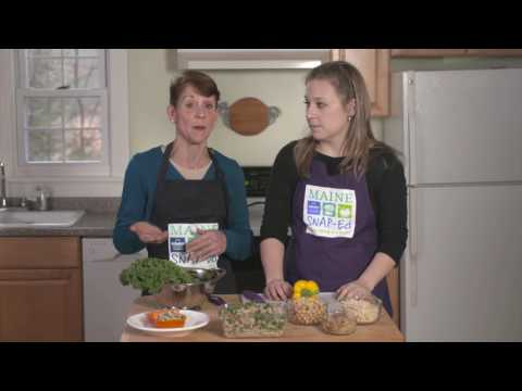 Youtube Screenshot for Rainbow Bell Peppers Recipe Video