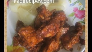 chicken in cumin sauce – African Food Recipe