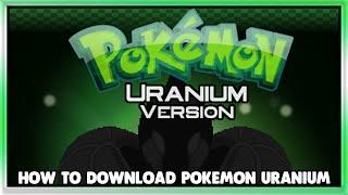 pokemon uranium gba rom download