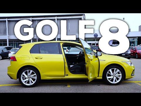 New Volkswagen Golf 8 2021 Review Interior Exterior