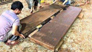 Woodworking Projects Extremely Strange Ebony // Amazing Techniques and Perfect Product Furniture