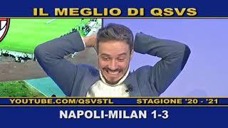 QSVS -  I GOL DI NAPOLI - MILAN 1-3  - TELELOMBARDIA / TOP CALCIO 24