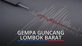 Gempa Berkekuatan M 4.3 Guncang Lombok Barat, Dirasakan di Mataram hingga Karangasem