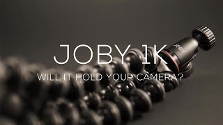 GORILLAPOD 1K - Will It Hold Sony A6000 Cameras? // Joby Gorillapod 1K Review