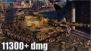 Объект 268 ЛБЗ ПТ-15 на Об 260 🌟 11300+ dmg 🌟 World of Tanks максимальный урон
