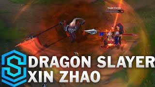 Dragonslayer Xin Zhao Skin Spotlight - Pre-Release - League of Legends