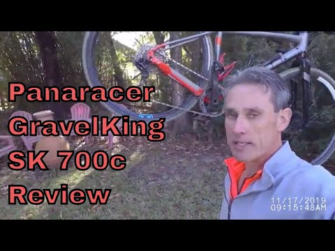 Видео о Покрышка Panaracer GravelKing SK 700x38C Black/Brown