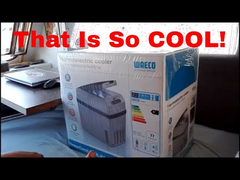 My new cool box unboxing video and GREAT nomadic news! Life is good. Full time RV life. Nomadic Dane