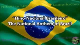 Brazil National Anthem with music, vocal and lyrics Portuguese w/English Translation