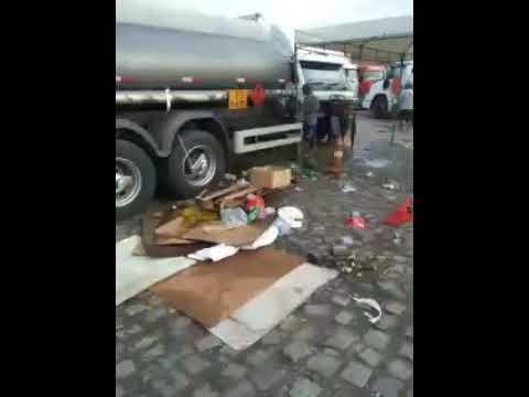 Greve dos caminhoneiros em Alagoinhas-BA em 29/05/2018