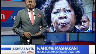 Mbunge Arama amkashifu Alice Wahome baada ya matamshi ya kumkosoa rais Uhuru
