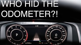 Finding the Odometer on a VW GOLF
