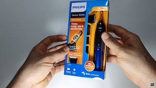 Review + unboxing Philips NT5175/16  trimmer