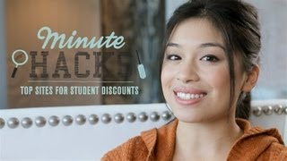 Minute Hacks: Top Discount Sites For Students