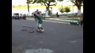 preview picture of video 'TV Barrancas - Skate um Esporte Apaixonante - Cidade Humaitá - AM'
