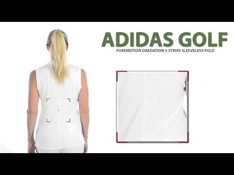 Adidas Golf Puremotion Gradation Polo Shirt - Sleeveless (For Women)