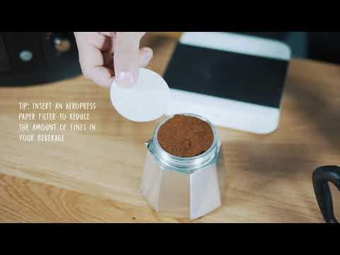Mokkakanne | Espressokocher richtig verwenden