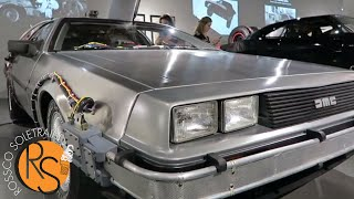 THE MOST iNCREDiBLE CAR COLLECTiON ON EARTH! BATMOBiLE + DELOREAN TiME MACHiNE!!!