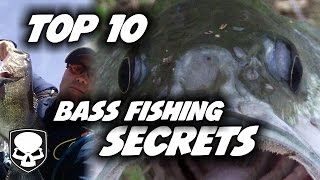Top 10 Bass Fishing Tricks   For Beginners   Tips And Tricks For Catching Bass