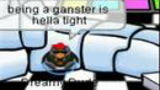 The gangster song-club penguin