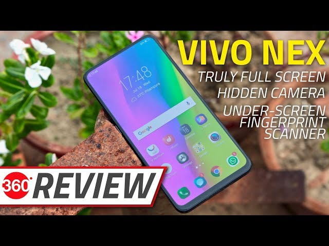 Vivo Nex With Pop-Up Selfie Camera Launched, Priced in India
