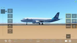 preview picture of video 'Crash ladding infinite floght a320'