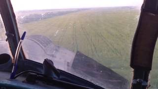 Полет на кукурузнике.