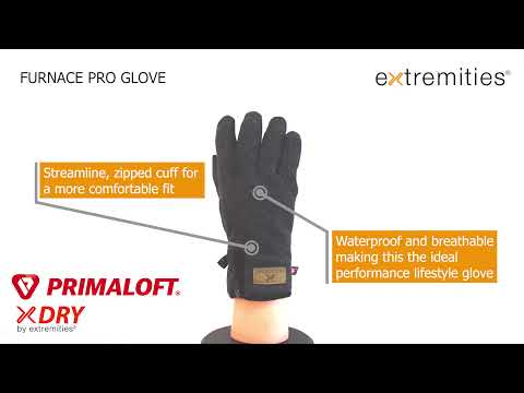 Extremities Furnace Insulated Waterproof Gloves Video