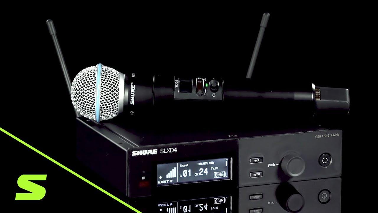 SHURE SLX-D 受信機の追加方法