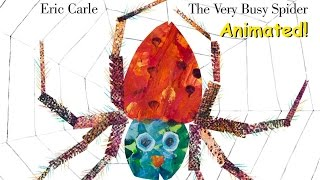 The Very Busy Spider - Animated Childrens Book