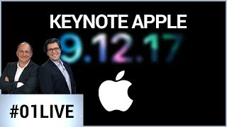 01LIVE spécial iPhone : la Keynote d'Apple commentée en direct !