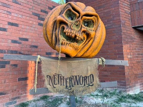 We Visit The #1 Haunted House In The U.S. | Netherworld Haunted House 2018 | Stone Mountain GA