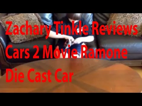 Zachary Tinkle Reviews Cars 2 Movie Ramone Die Cast Car
