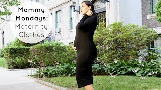 DON'T Buy Maternity Clothes Until You See This! Mommy Mondays #1
