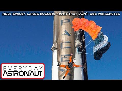 Proč rakety SpaceX nepřistávají na padácích - Svět Elona Muska