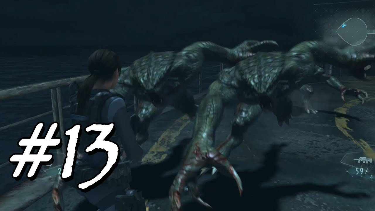 [Let's Play] Resident Evil Revelations – 13 – Hunter an Board