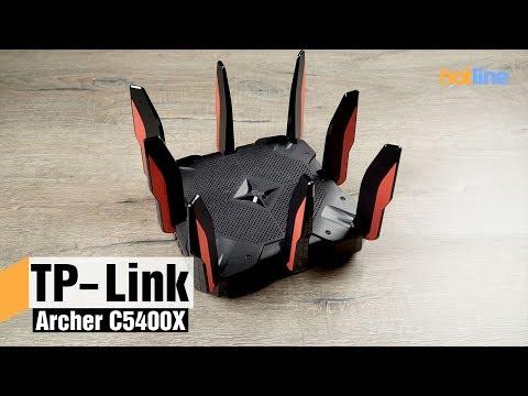 Archer C5400X — первый игровой роутер TP-Link