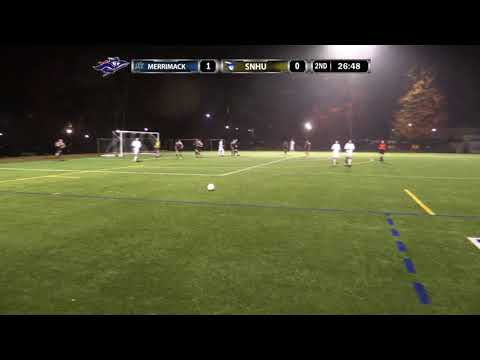 Highlights: Men's Soccer Battles to 1-1 Draw with No.  24 Merrimack