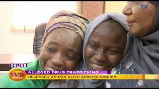 Zainab Aliyu Returns To Nigeria.