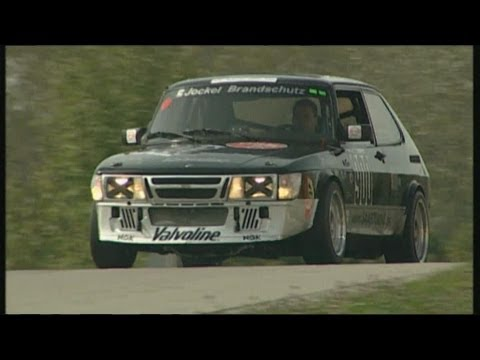 Saab 900 Turbo Track Test Video