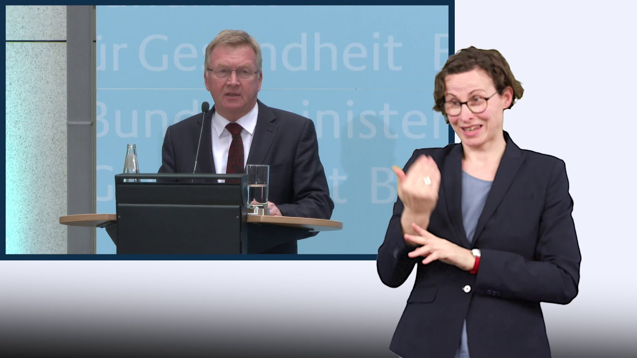 Pressekonferenz von Jens Spahn mit Andreas Westerfellhaus vom 19.03.