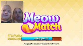 413 Lets play Meow match level 413 HARD LEVEL HD 1080P