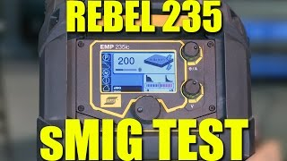 🔥 sMIG Welding in a Groove | ESAB Rebel 235 Review - Part 2